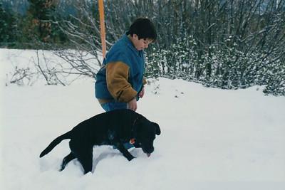 1995-12 | Lake Tahoe with Henri & Kimi