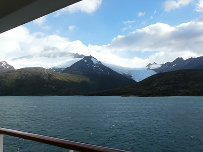 1/28/2008 Crusing through the Beaver Channel, viewing the glaciers, on the way around Cape Horn, and on to Ushuaia, Argentina