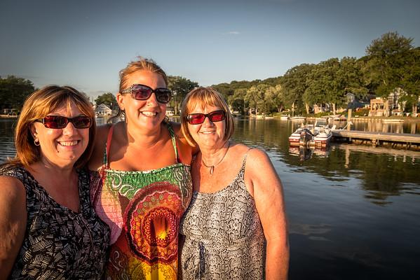 Liz & Carol & Indian Lake