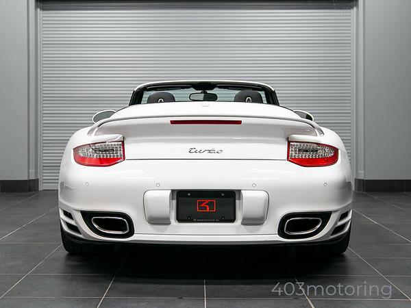 '12 911 Turbo Cabriolet - Carrara White