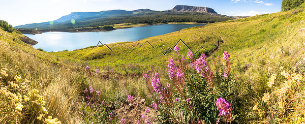 Stillwater Reservoir, Flat Tops Range, CO