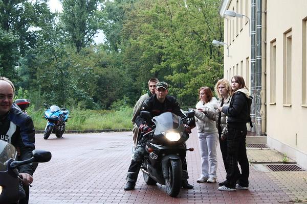 Wizyta Klubu Motocyklowego