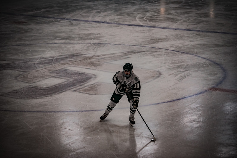 Holy Family Girls Varsity Hockey vs. Mound Westonka, 12/10/19: Maddie Morgan '22 (16)