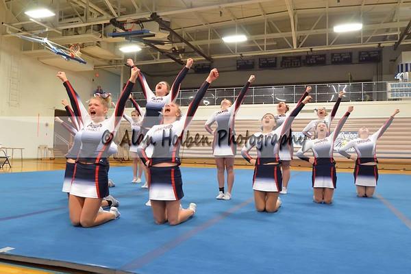 Cheer League meet at LCHS - Lakewood Varsity