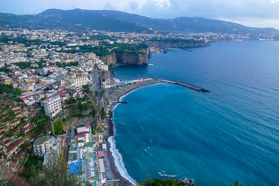 June 13-14, Drive to Sorrento, then Pompeii