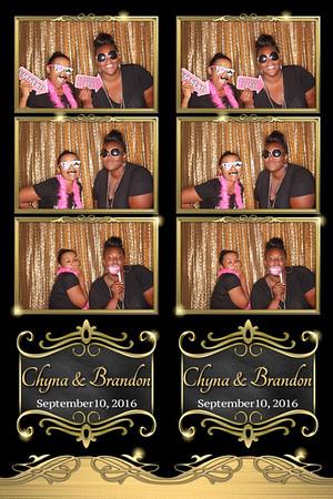 Chyna and Brandon Wedding