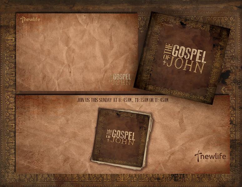 The Gospel of John Series Graphic Package Sample