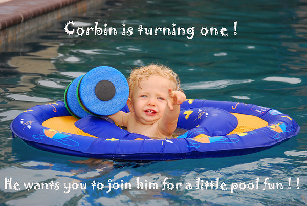 Corbins 1st Birthday