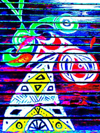 Streetart along the way