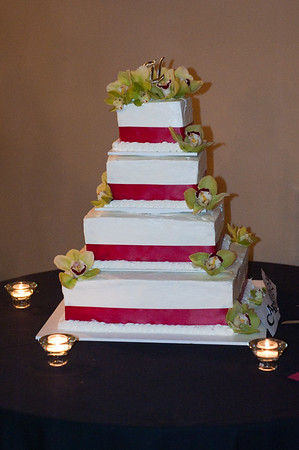 Erin and Keoki Cake Cutting
