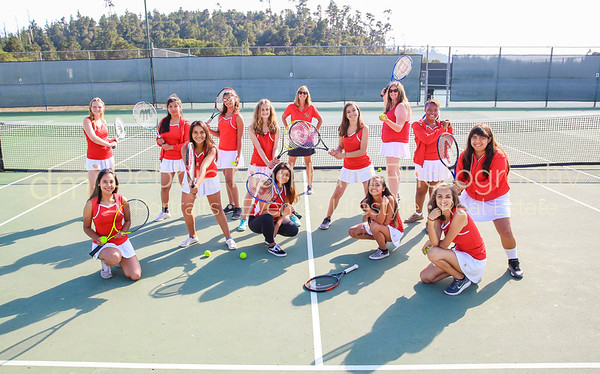 2018 Girls Athletes + Team