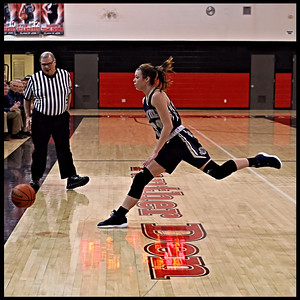 Eastbrook vs Oak Hill Girls Basketball  1-25-19