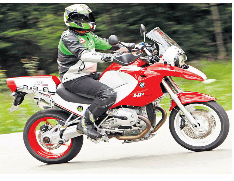 From MCN (Motorcycle News) article on the AC Schnitzer BMW R1200GS