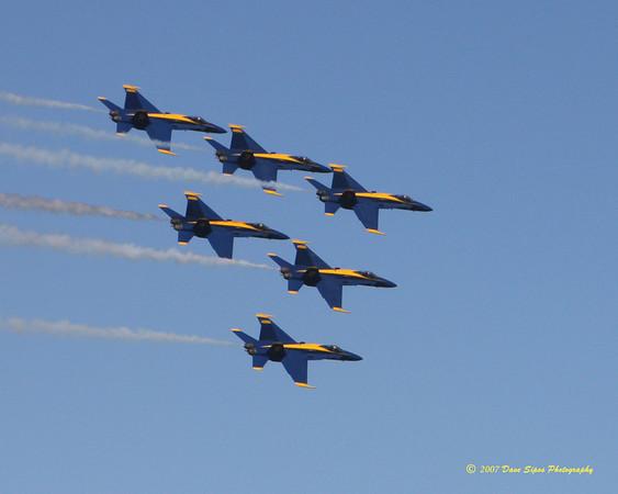 San Francisco Fleet Week - Blue Angels 2007
