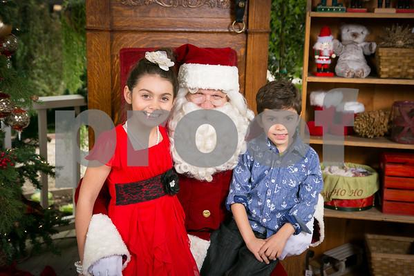 Sat. Dec. 20 Rogers Garden Santa