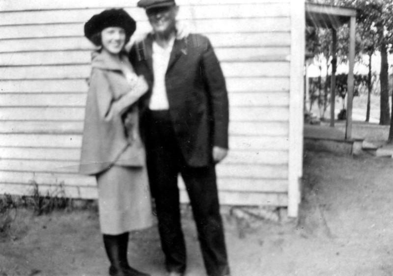 Laura Nelson and Walt Wilcox