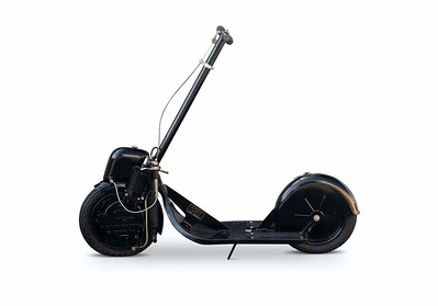 1915 Autoped Motorized Scooter – The World's First Powered Production Scooter