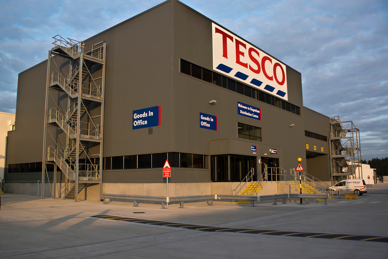 Tesco Distribution Dagenham 06/13
