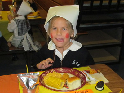 2012-11-16 Kindergarten Thanksgiving Lunch
