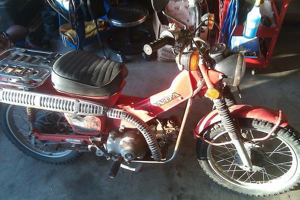 Honda CT110 Project
