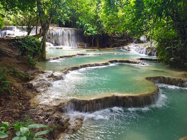Luang Prabang Day Trip: Kuang Si Waterfalls