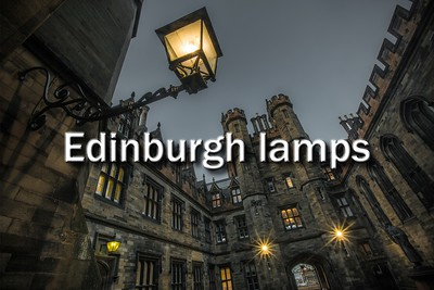 Edinburgh lamps