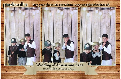 22nd Sept 2019: Adnan and Asher's Wedding