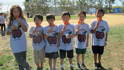 LCE Students Use Jogging Power for Fundraising