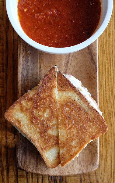 Barrel and Bushel grilled cheese