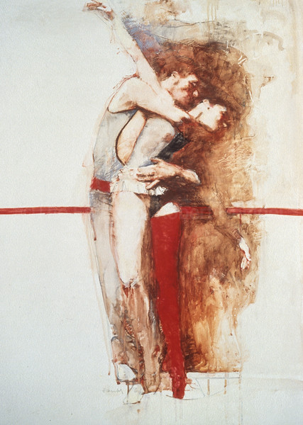 Study for A Red Stocking (1995)