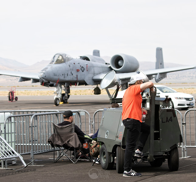 Watching the A-10C Thunderbolt II
