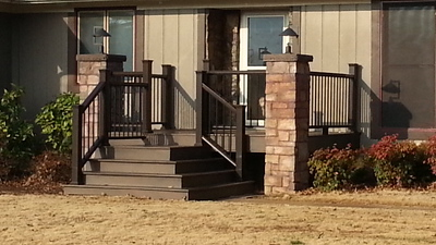 2013 Front Deck addition