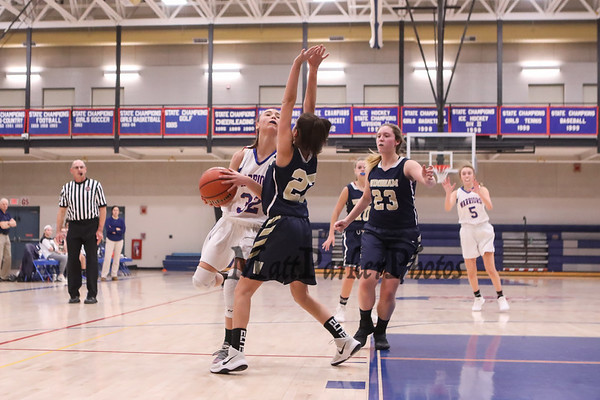 2018-12-11 WHS Girls Basketball vs Windham