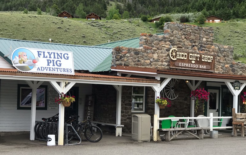 a gift shop and adventure store