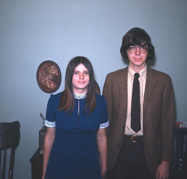 Wayne And Claudia Wedding Picture, Feburary 12, 1972