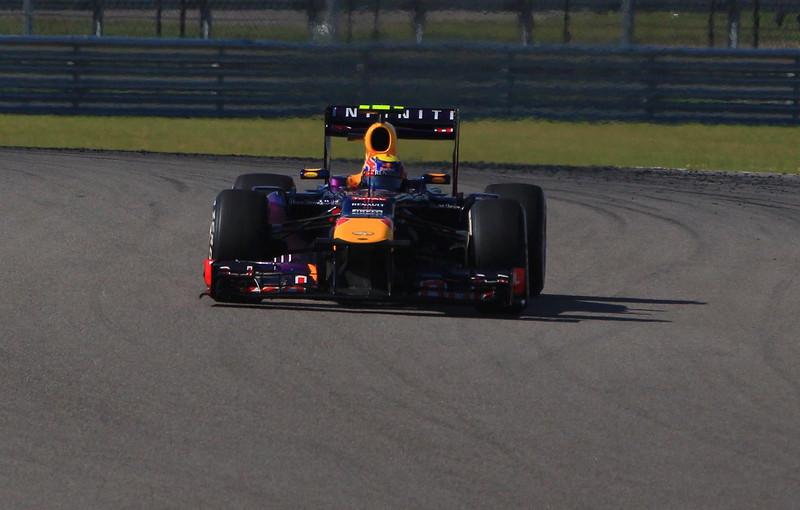 Webber exits turn 6.