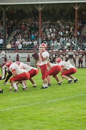 Montesano HS vs. Castle Rock HS, varsity, September 10, 2010