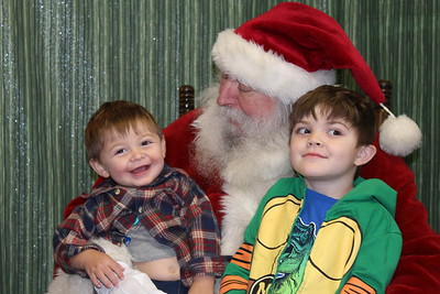 Storytime with Santa at Howe Community Library, 12/14/2019