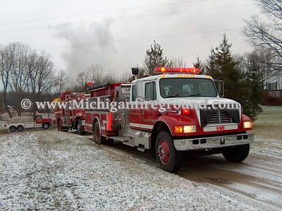 1/14/08 - Onondaga house fire, 3794 Gale Rd