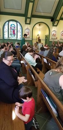 2018.09.23 Family Mass (St. Andrew)