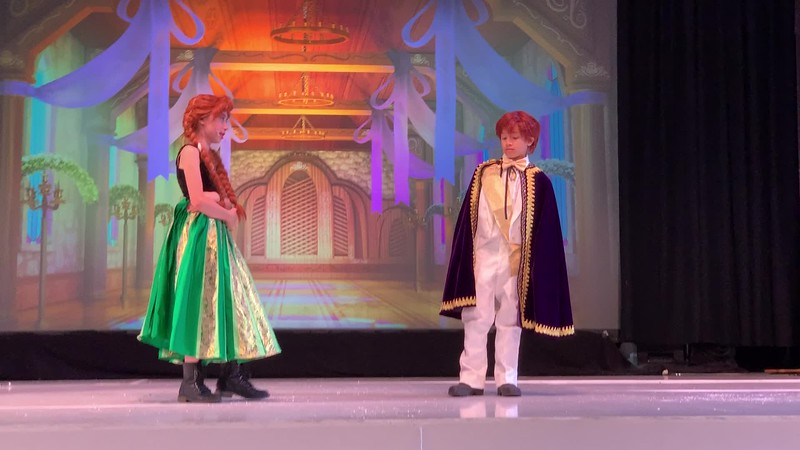 2020.03.05 Frozen the musical - Ryder performance
