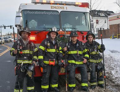 2 Alarm House Fire - 401 Sigourney St, Hartford Ct -12/19/20