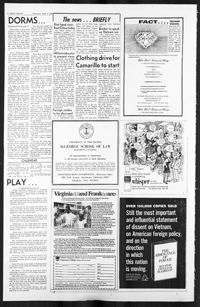Daily Trojan, Vol. 59, No. 103, April 03, 1968