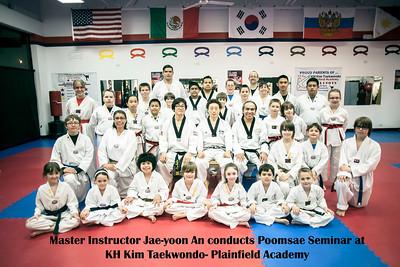 Grandmaster An - Poomsae Seminar - KH Kim Taekwondo - Plainfield Academy