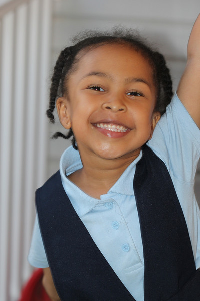 My God daughter Layton, Goes to First Grade