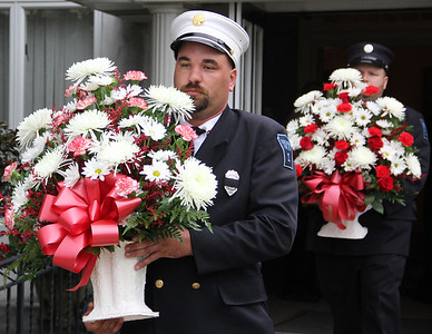 Service For Firefighter Gene, Eugene Marko,  Tuscarora Fire Co, Tuscarora (8-28-2013)