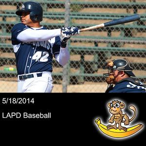 2014-05-18 LAPD Baseball