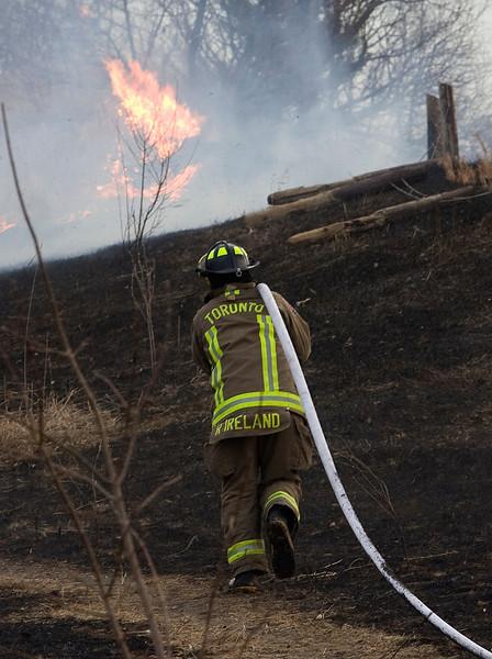March 6, 2009 - Grass Fire - Lyme Regis Cres