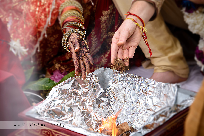 lajaahutiand parikrama, indian wedding ceremony at Brazilian Room - Tilden Regional Park, Berkeley