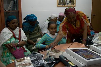 Ethiopian Women Embroidery